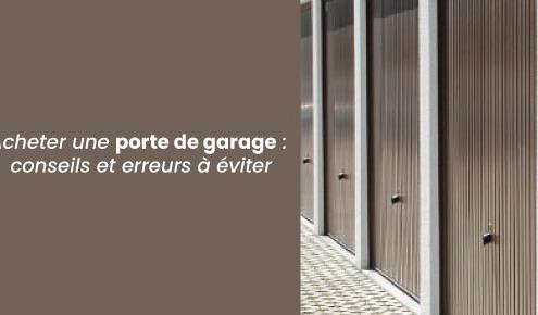 porte de garage à Lyon